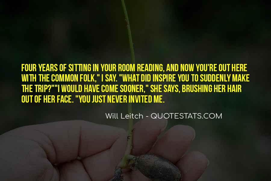 Leitch Quotes #1280616