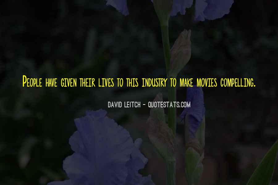 Leitch Quotes #1374384