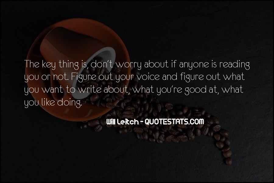 Leitch Quotes #640919