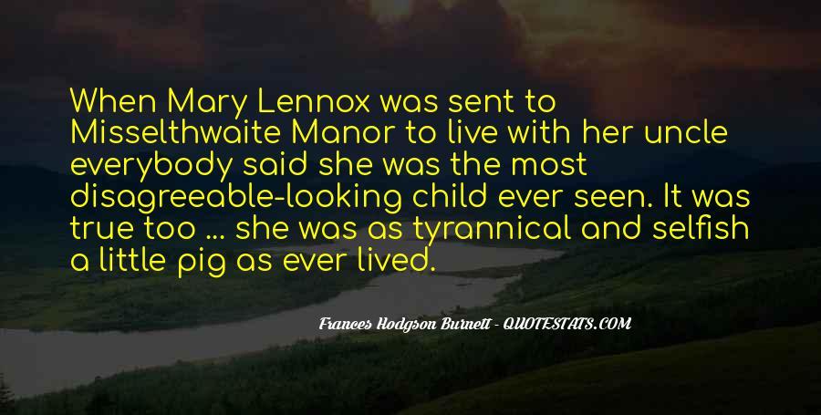 Lennox's Quotes #1023702