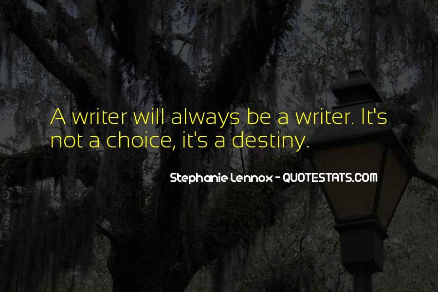 Lennox's Quotes #1072974