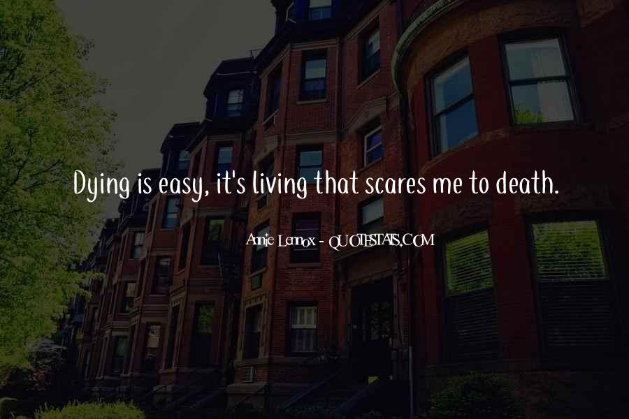 Lennox's Quotes #1249609