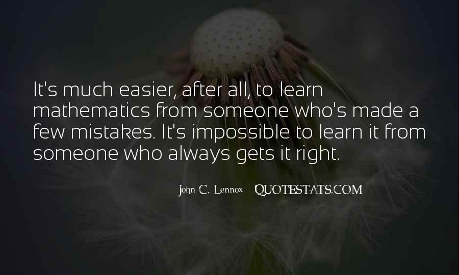 Lennox's Quotes #1647651