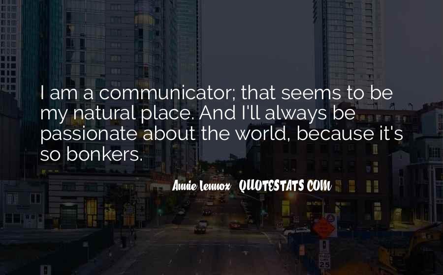 Lennox's Quotes #1762235