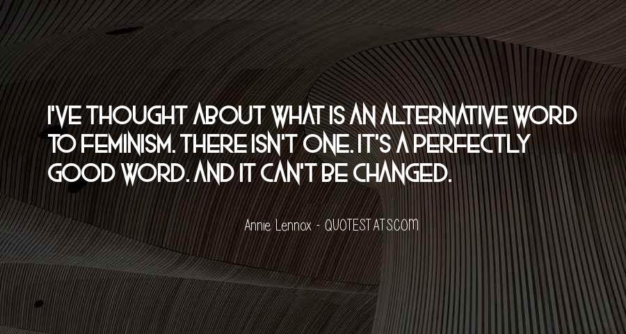 Lennox's Quotes #1843889