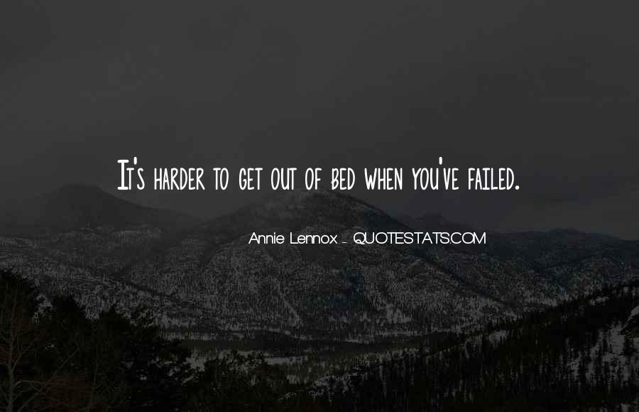 Lennox's Quotes #331039