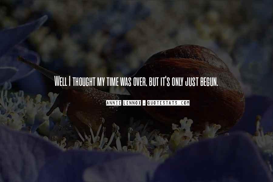 Lennox's Quotes #410955