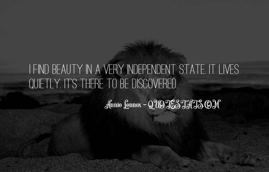 Lennox's Quotes #610063