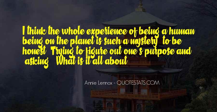 Lennox's Quotes #829628