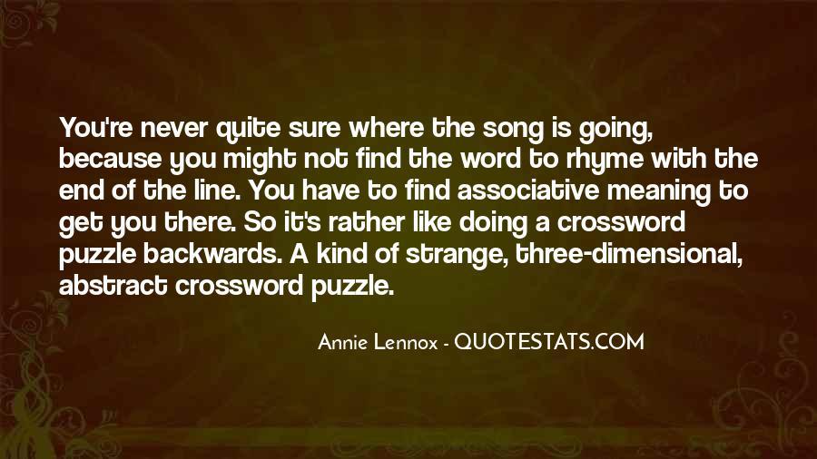 Lennox's Quotes #833539