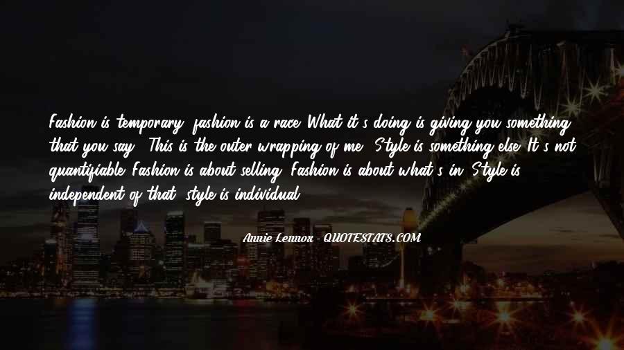 Lennox's Quotes #863257