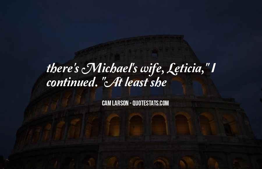 Leticia Quotes #1628321