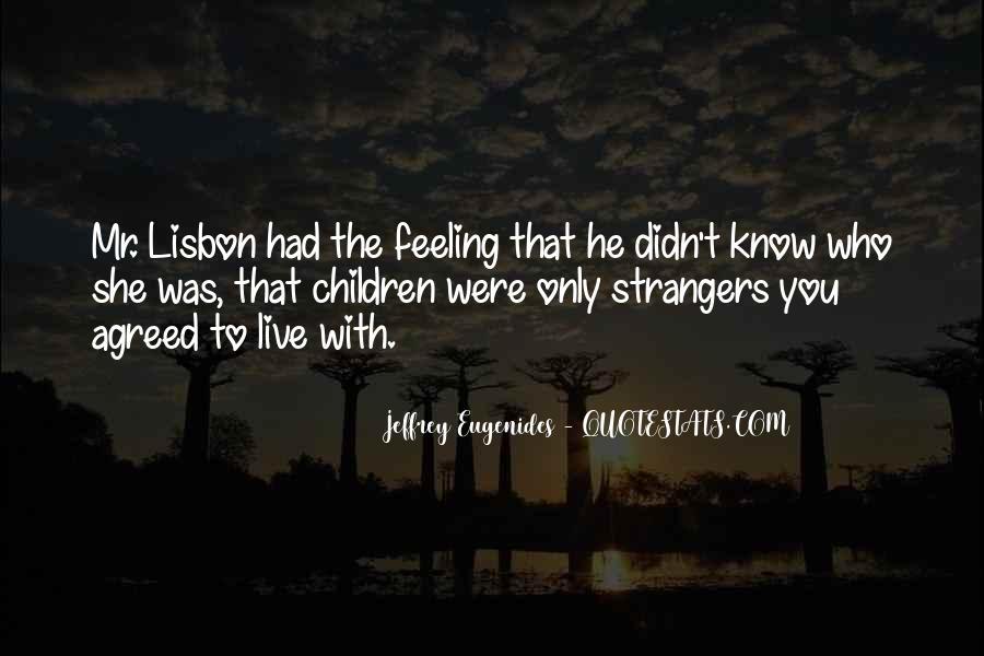 Lisbon's Quotes #1302718