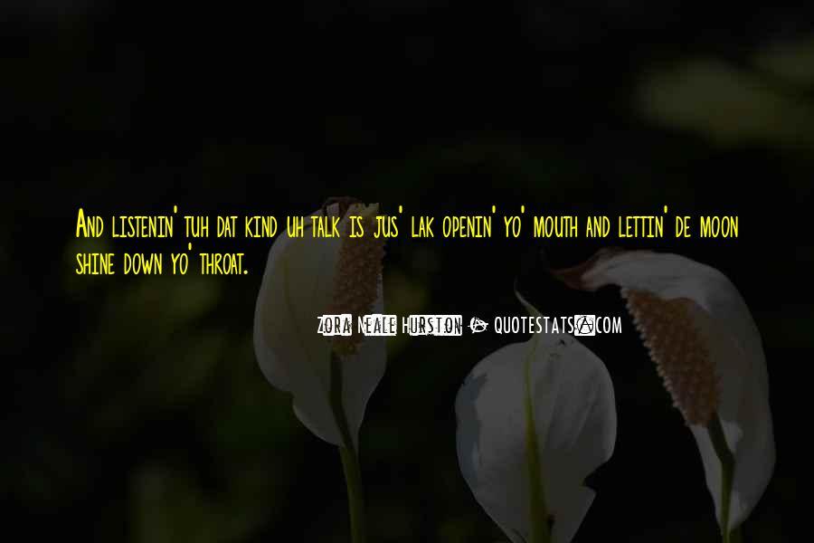 Listenin Quotes #1691506