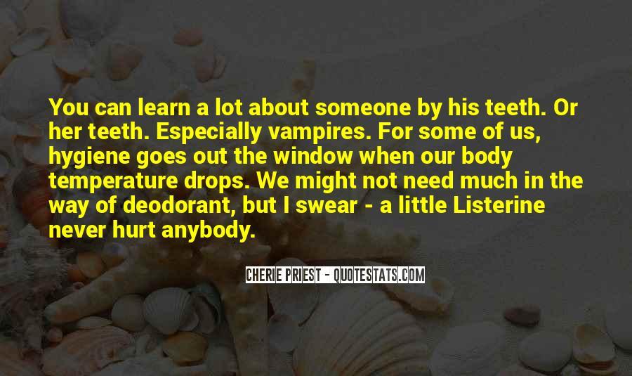 Listerine Quotes #536821