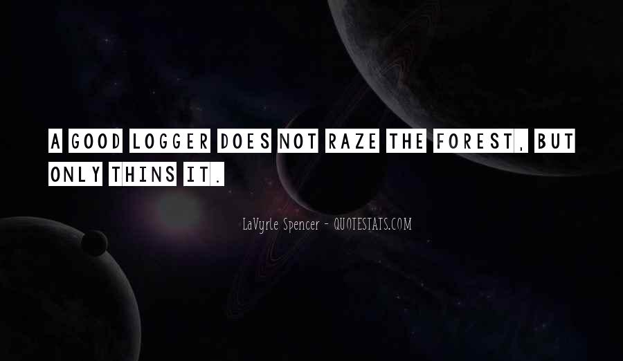 Logger Quotes #338669