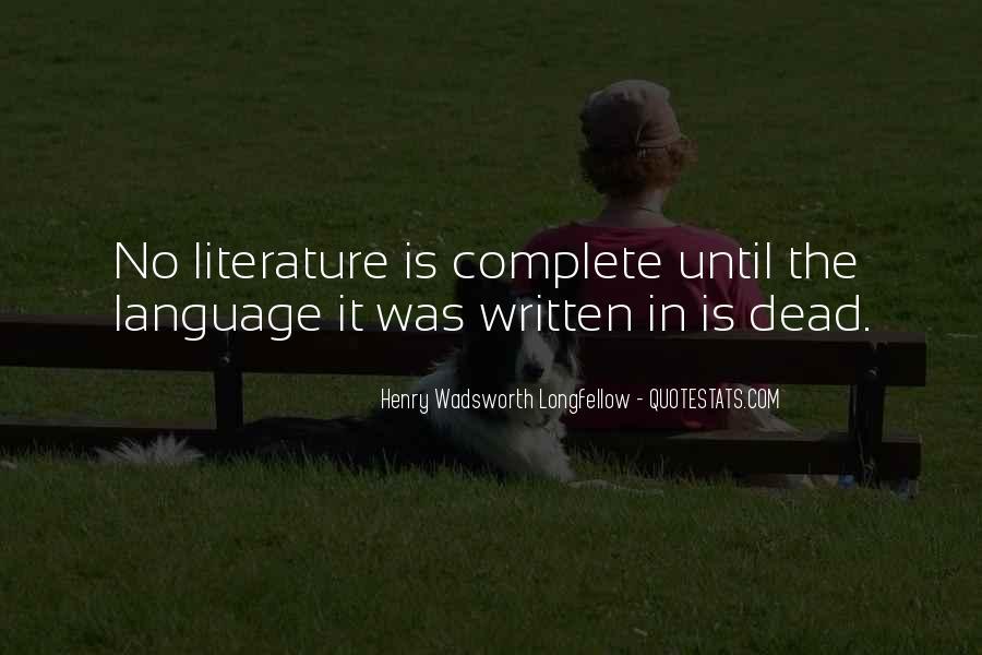 Longfellow's Quotes #11122