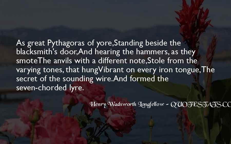 Longfellow's Quotes #1478692