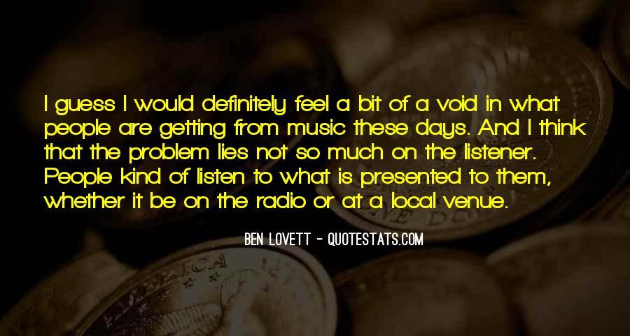 Lovett Quotes #110964