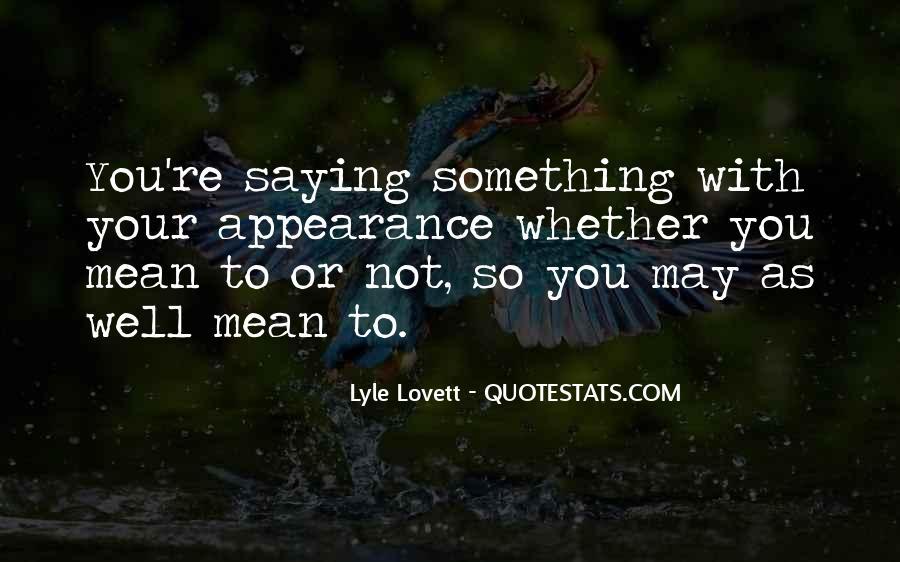 Lovett Quotes #1188023