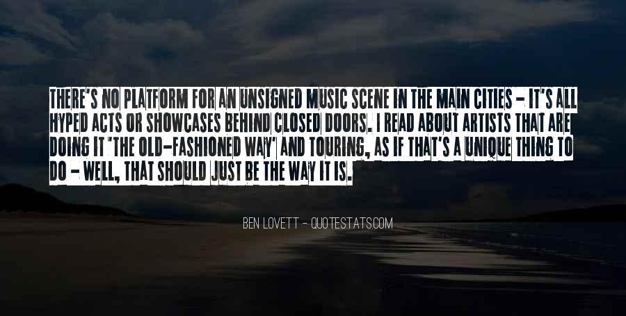 Lovett Quotes #1192051