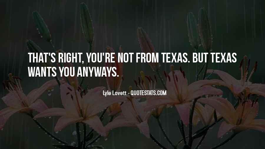 Lovett Quotes #273329