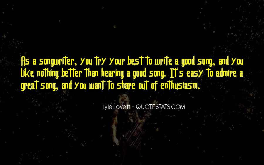 Lovett Quotes #38700