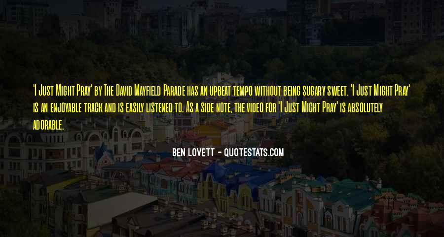 Lovett Quotes #392872