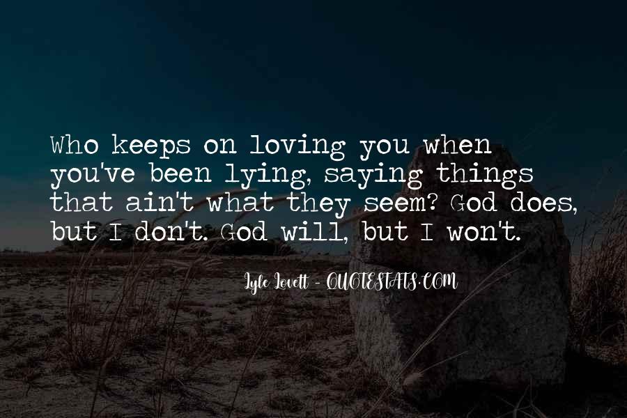 Lovett Quotes #497659