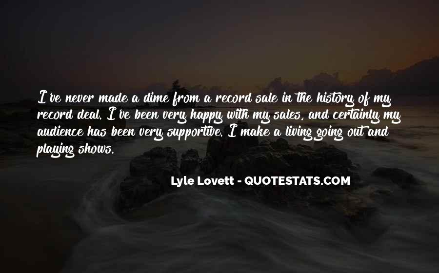Lovett Quotes #535449