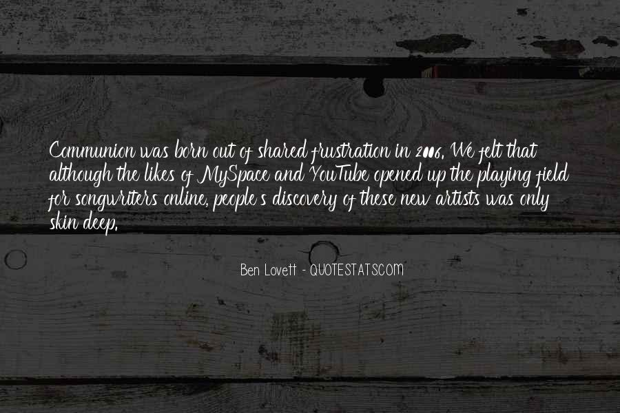 Lovett Quotes #619601