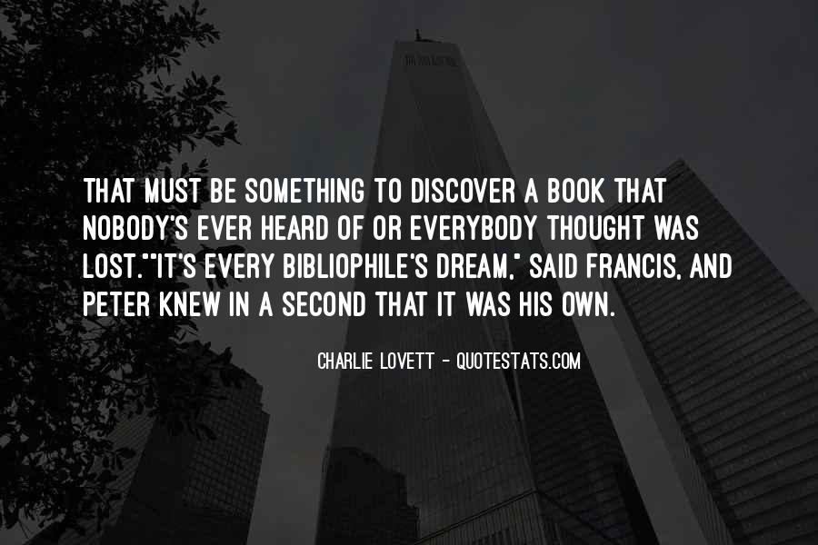 Lovett Quotes #652565