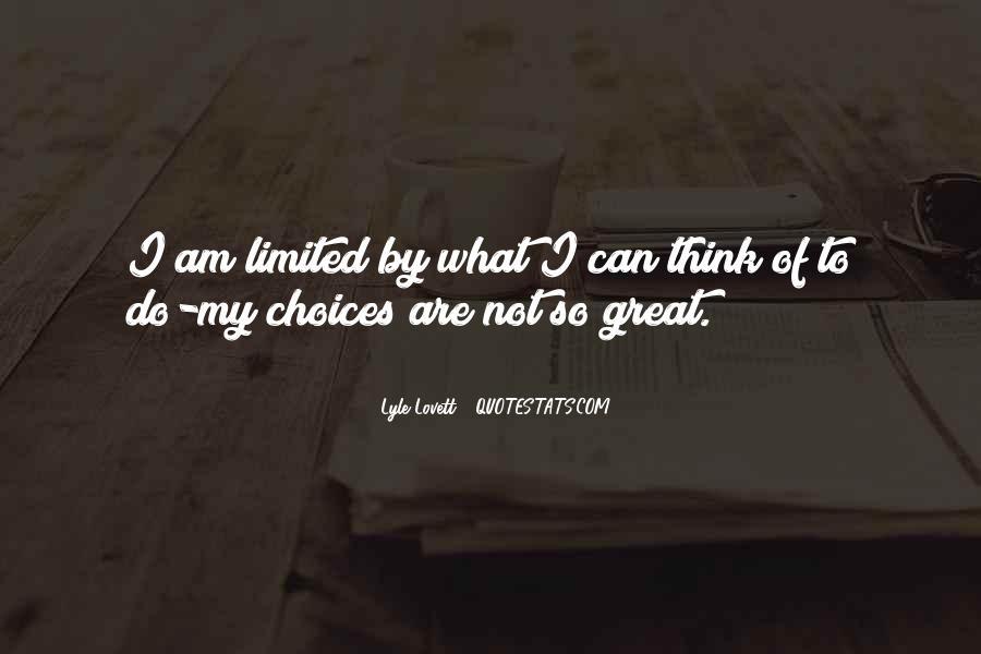 Lovett Quotes #707357