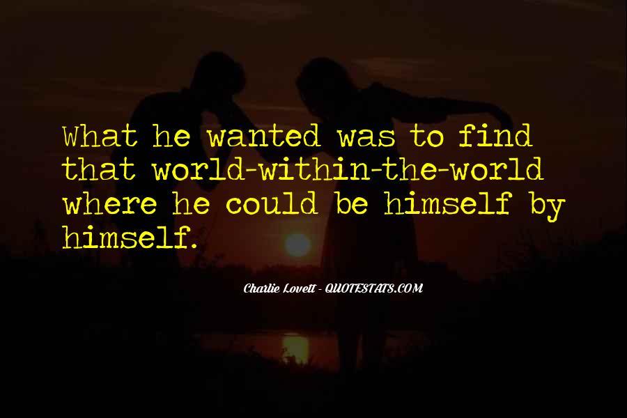Lovett Quotes #886190