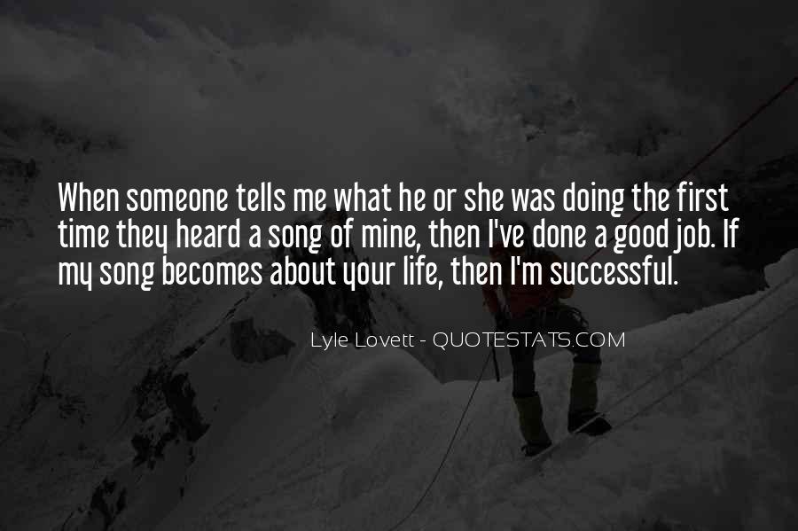 Lovett Quotes #95503