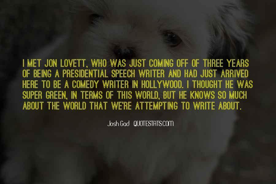 Lovett Quotes #971464