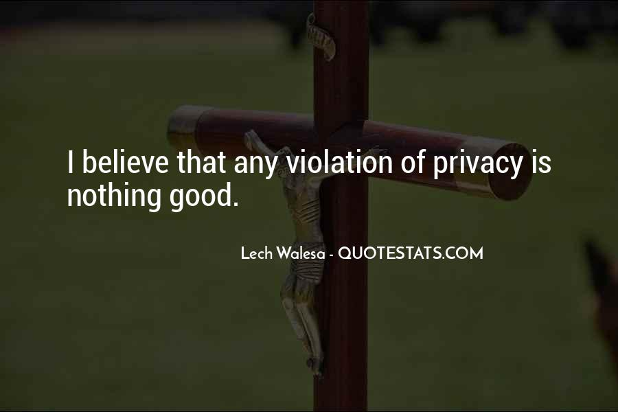 Quotes About Violation Of Privacy #1143065