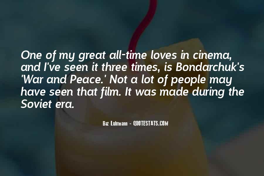 Luhrmann's Quotes #1259190