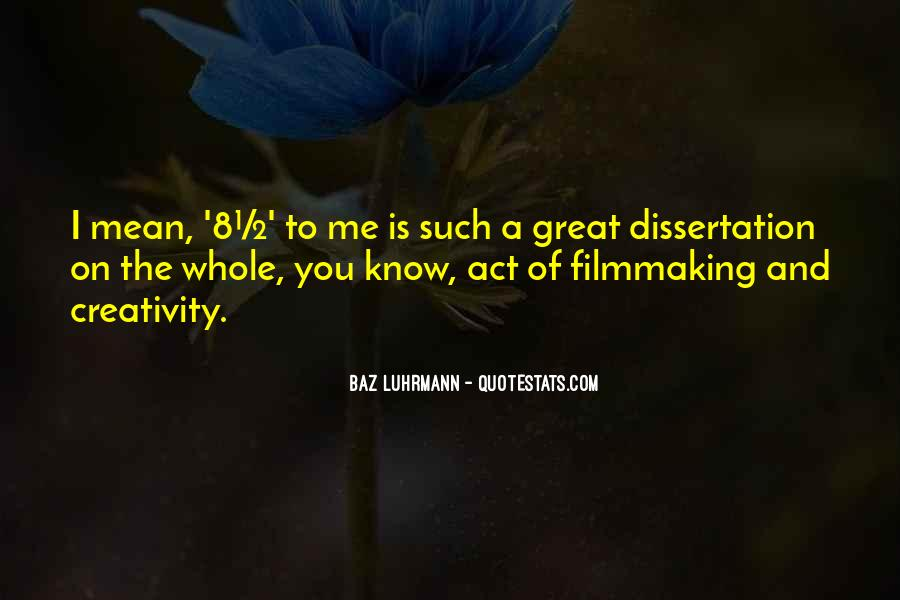 Luhrmann's Quotes #1353083