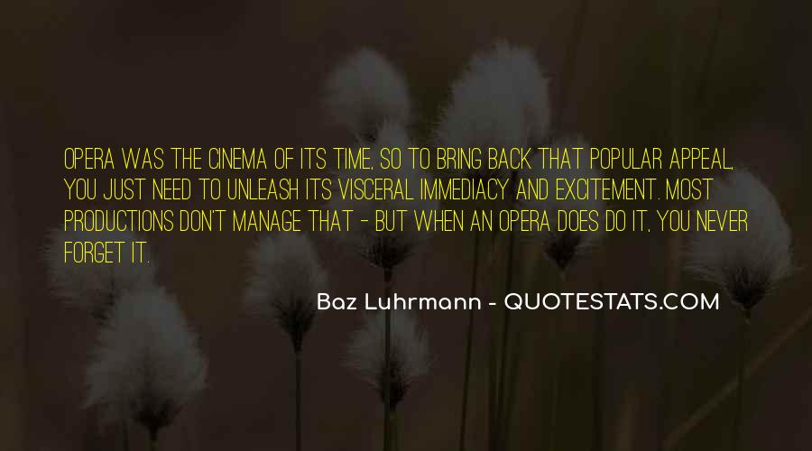 Luhrmann's Quotes #1568067