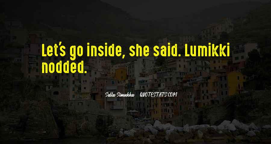 Lumikki's Quotes #853136