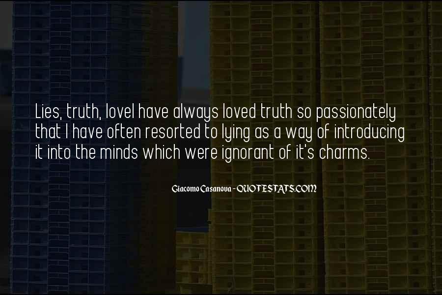 Lying's Quotes #129565