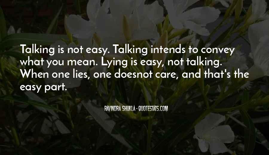 Lying's Quotes #88879
