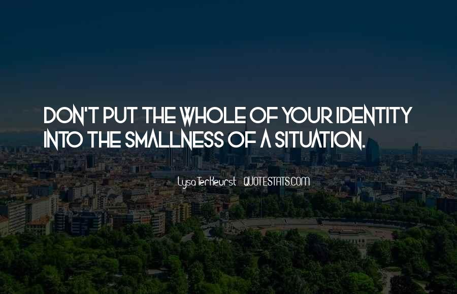 Lysa Quotes #130911