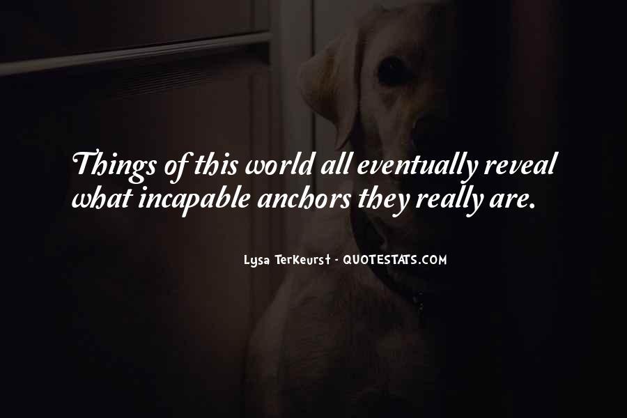 Lysa Quotes #18645