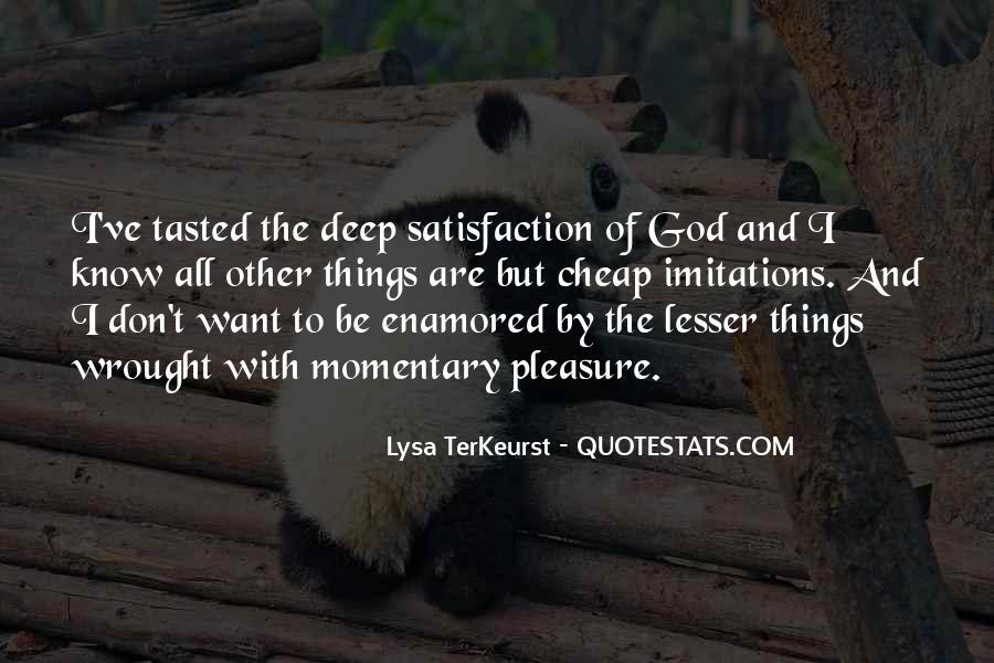 Lysa Quotes #199359