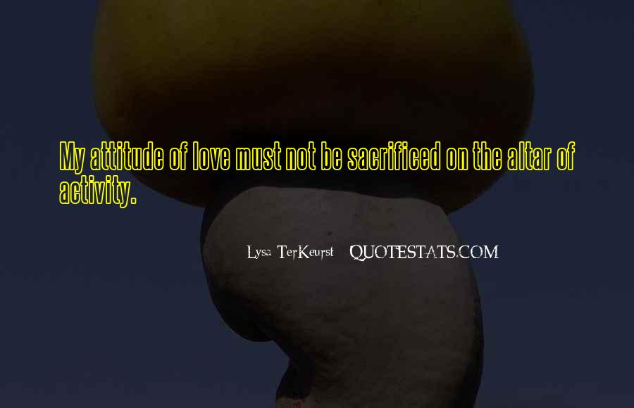 Lysa Quotes #200112