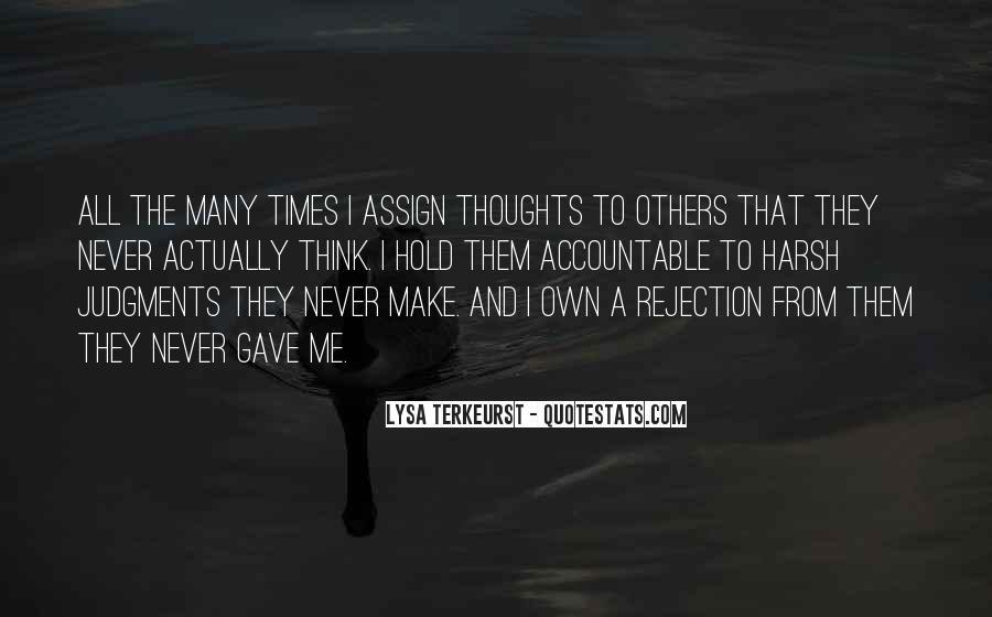 Lysa Quotes #311959