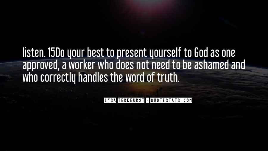 Lysa Quotes #322807