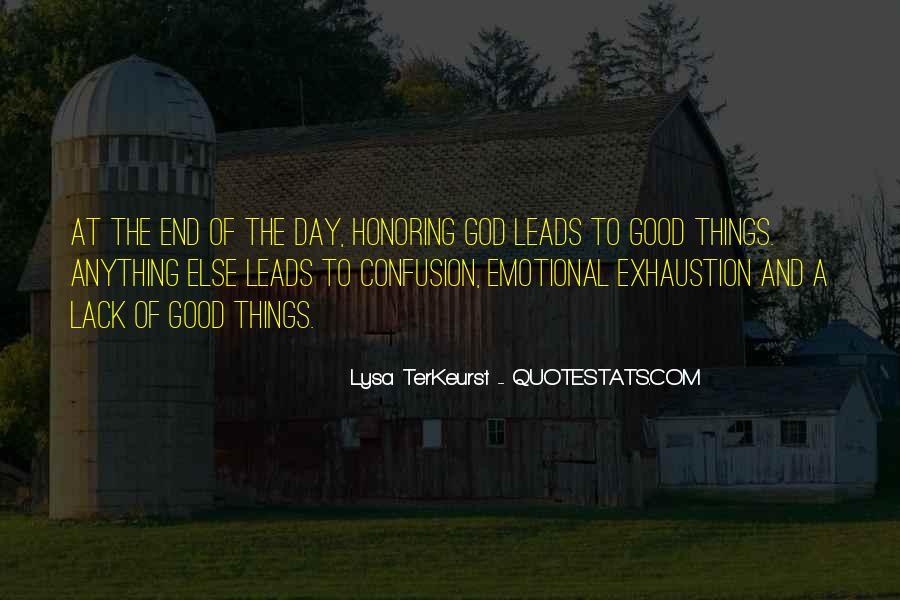 Lysa Quotes #356208